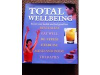 ORIGINAL BRAND NEW 'TOTAL WELLBEING' MODERN DAY BIBLE - BOOK TO MAKE THE BEST OF 'YOU'