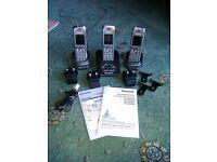 Panasonic Cordless Telephone/Answerphone with 2 Additional Handsets
