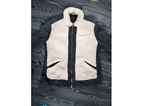 Extremely Rare All Saint Grasp Leather Jacket & Sheep Skin Size XL Cost £595