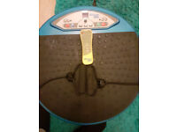 Vibrapower Disc very good condition with straps and remote