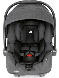 Joie i-Gemm Group 0+ Baby Car Seat, Pavement Grey