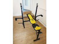 Weight Bench with accessories
