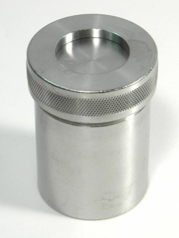Spex 8007 Stainless Steel Grinding Vial Set for 8000 Mixer/Mill Jar