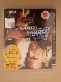 SMACK DOWN VS RAW 2009 FEATURING ECW! ONLY £3.00