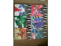Akira comic books - series of 6 by Katsuhiro Otomo