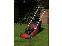 Ugpraded Petrol Mountfield Empress Lawnmower with roller