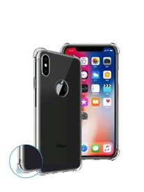 IPhone X Crystal Clear Ultra thin Silicone Case
