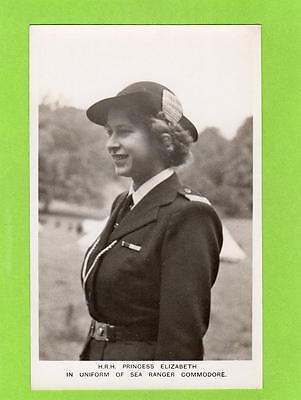 Princess Elizabeth later Queen Sea Ranger Commodore unused RP pc Ref D361