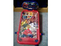 Spiderman pinball machine