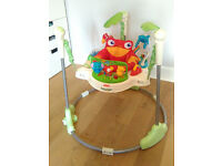 Fisher Price Rainforest Jumperoo - Cover Partly Worn Out