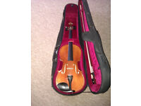 Violin by Paesold/Schroetter ( AS-165 - V4/4). 4/4 size