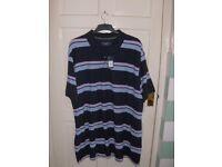 Maine (Debenhams) Polo Shirt Navy Blue Size XXXL BNWT