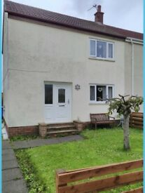 Semi detached 2 bedroomed house , close to all local amenities quiet location fully double glazed