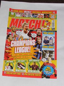 MATCH-FOOTBALL-MAGAZINE-FEBRUARY-21-27-SEASON-2005-2006-CHAMPIONS-LEAGUE