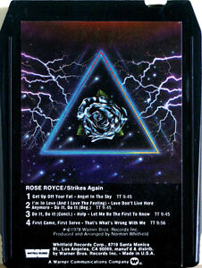 ROSE-ROYCE-Rose-Royce-III-Strikes-Again-8-TRACK-CARTRIDGE-TAPE