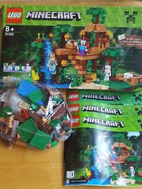 Minecraft 21125 Lego Jungle Set