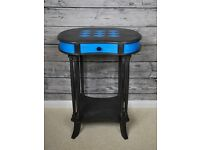 Beautiful Telephone Table Refurbished Annie Sloan Graphite Giverny Chabby Chic