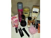 Make up. Cosmetics. Perfumes