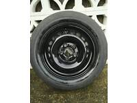 Genuine VW T5 16inch steel wheel, centre cap and tyre