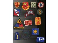 Collection of Patch Insignia Badges and Hovertravel Solent 1965 Pennant For Sale