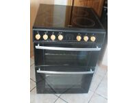 6 MONTHS WARRANTY Belling 60cm, double oven electric cooker FREE DELIVERY