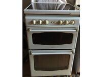 Gas cooker with separate grill