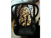 FREE car seat new born good condition
