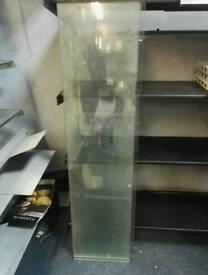 5 glass Shelves