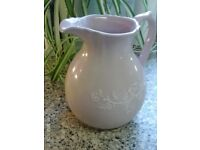 pink water jug 21x20cm