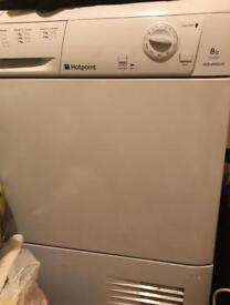 Big hotpoint condenser dryer