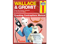 HAYNES WALLACE & GROMIT MANUAL - CRACKING CONTRAPTIONS
