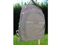 NEW fred perry pink ruck sack 48x38cm