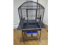 Large bird cage. Ideal for small parrot parakeet budgie