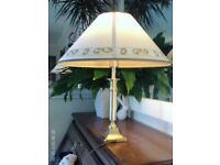 brass table lamp 45x42cm