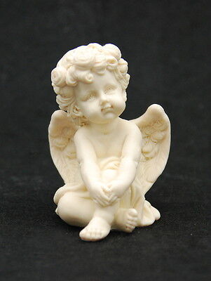 Baby Angel #1, Silicone Mold Chocolate Polymer Clay Jewelry Soap Melting Wax