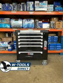 New 6 drawer toolbox filled with tools