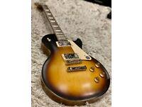 Gibson USA Les Paul Tribute Satin Tobacco Burst Electric Guitar