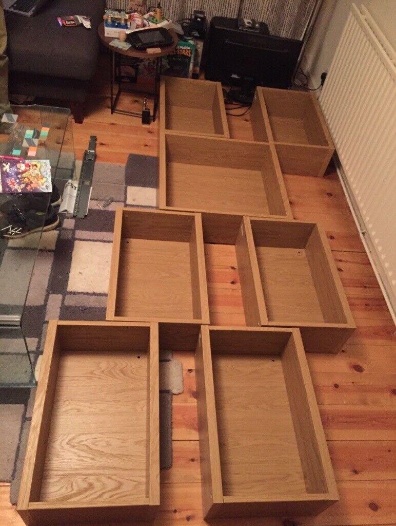 Ikea Besta Modular Shelves With Fittings In Clapham Common London Gumtree