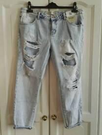 Boyfriend jeans size 14