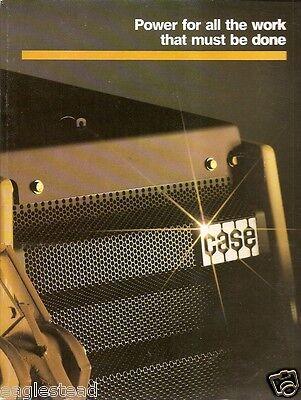 Equipment Brochure - Case - Construction Product Line Overview E1176