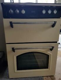 Leisure Double Electric Oven with Electric Hob