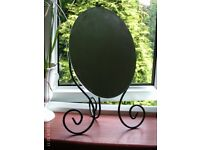 oval tilting dressing table mirror