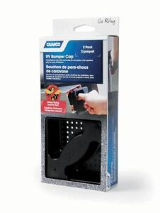 New, Camco 2 Pack RV Bumper Cap (OpenBox)