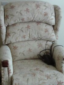 Rise and Recline electric chair .