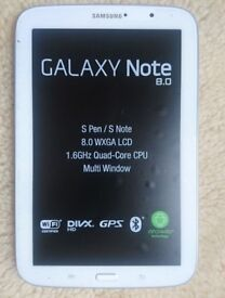 Pearl White Samsung Galaxy Note 8.0 16GB Tablet With S Pen & Pearl White Samsung Book Cover