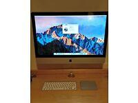 "Apple iMac 27"" (i7 CPU, 8GB RAM, 1TB HD, CD, SD, BT, Wall Mount)"