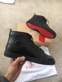 Men's Crocodile Christian Louboutin in Black (Sold out but taking orders)