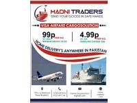 Send your goods to Pakistan and AJK