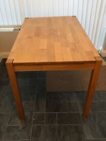 4 seater dining table and 2 chairs **£100**collection only