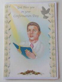 Male Confirmation Cards - Medium
